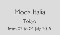 moda italia tokyo luglio 2019